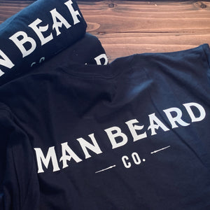 Man Beard Basic T-Shirt