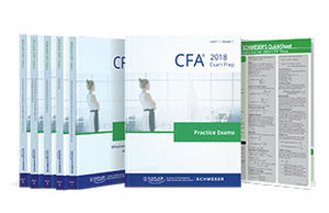 CFA Schweser Notes Package - 2018 - Level I