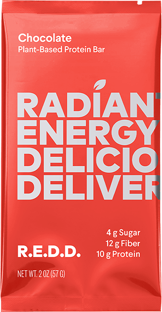 Radiant Energy Deliciously Delivered (R e d d ) Protein Bars