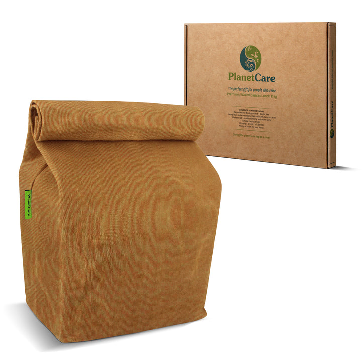 PREMIUM Waxed Canvas Lunch Bag
