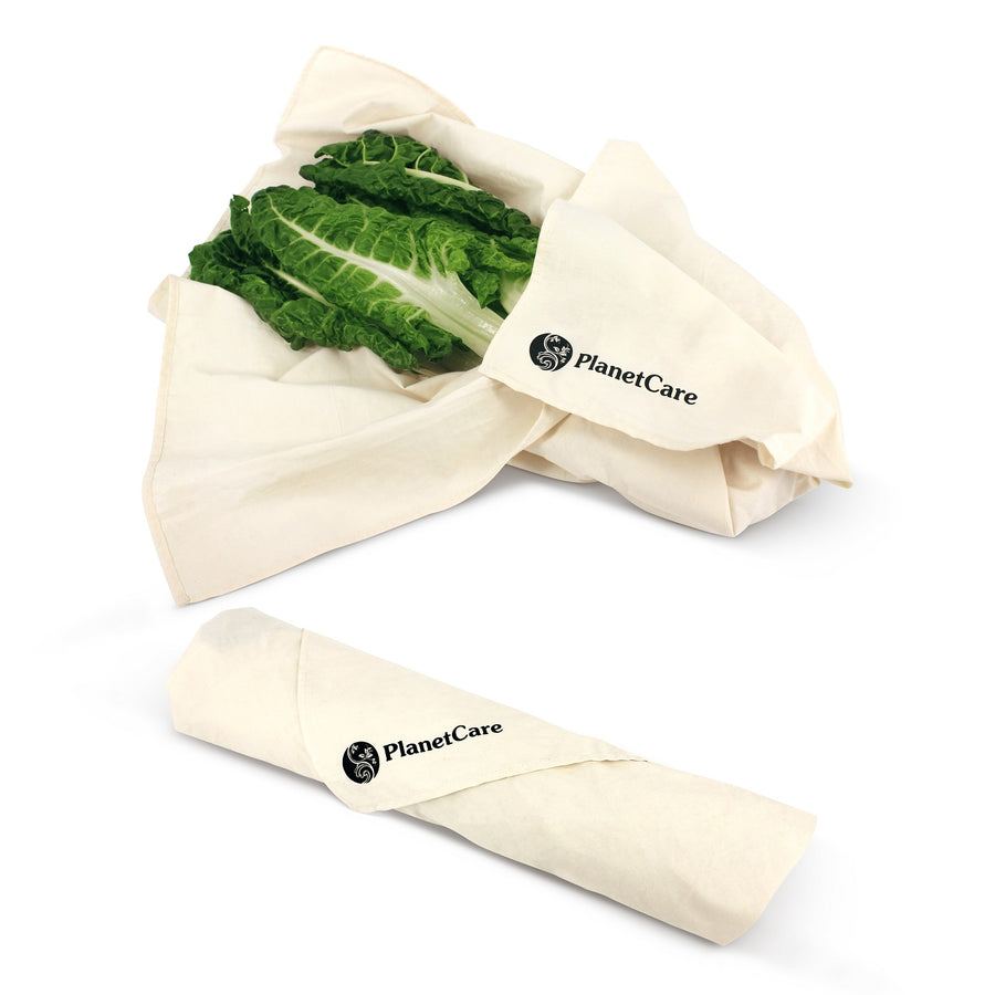 Premium Organic Cotton Produce Bags 7pc Set