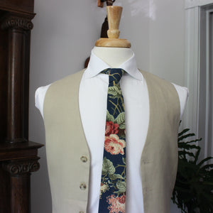 Baroque Rose Necktie