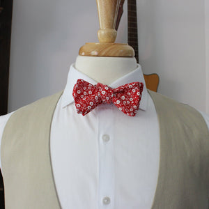 Cardinal Red Bow Tie