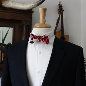 Death Rose  Bow Tie