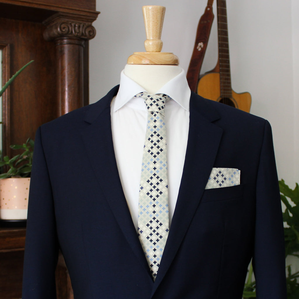 Blue Strike Necktie