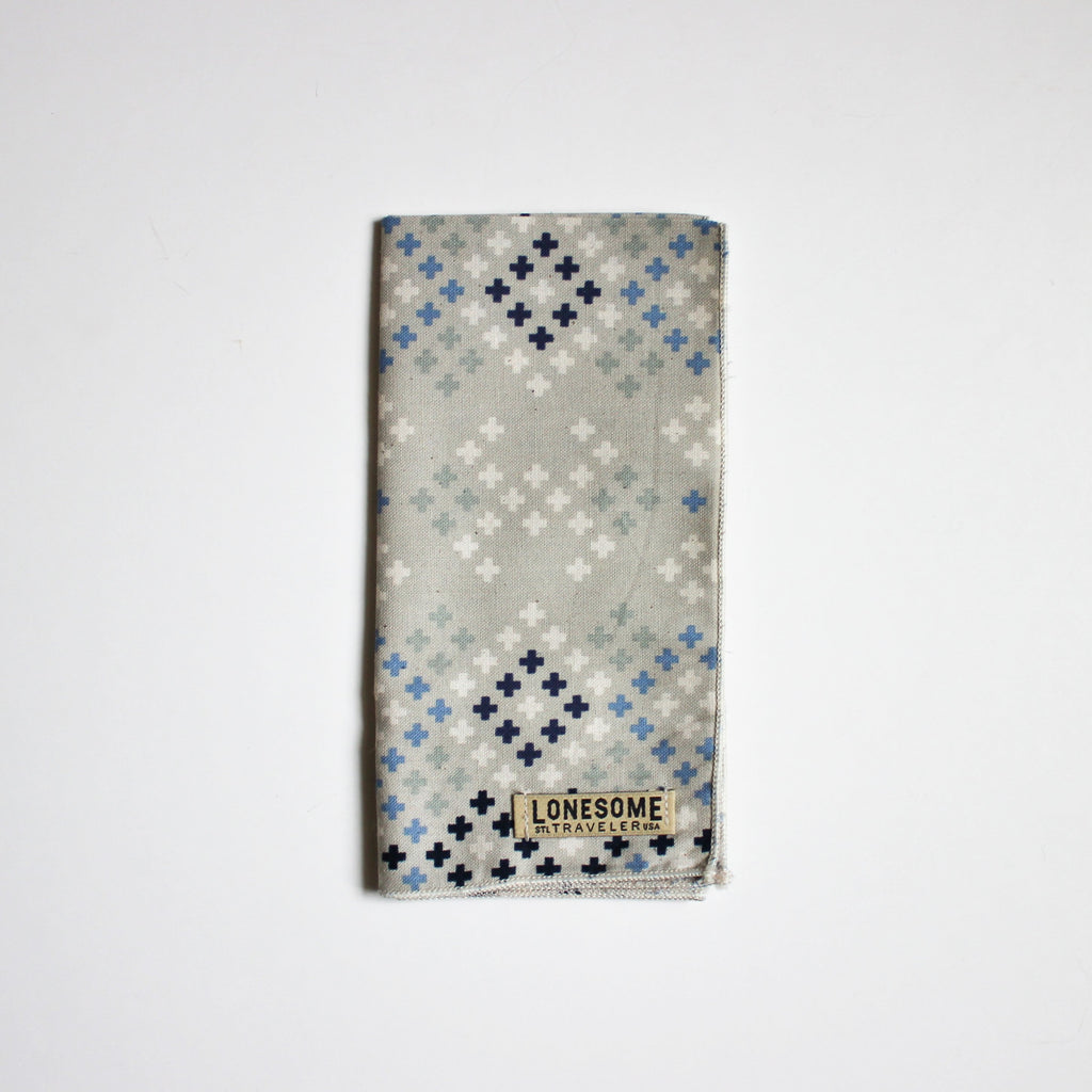 Blue Strike Pocket Square