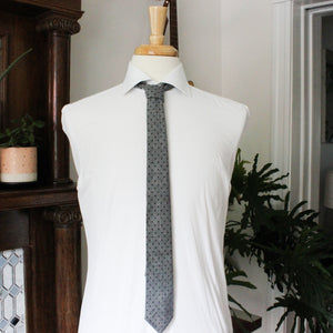 Black Dot Chambray Necktie
