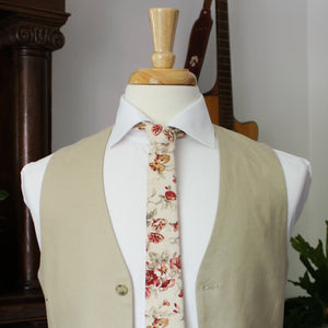 Cottage Rose Necktie