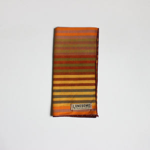 Mustard Stripe Pocket Square
