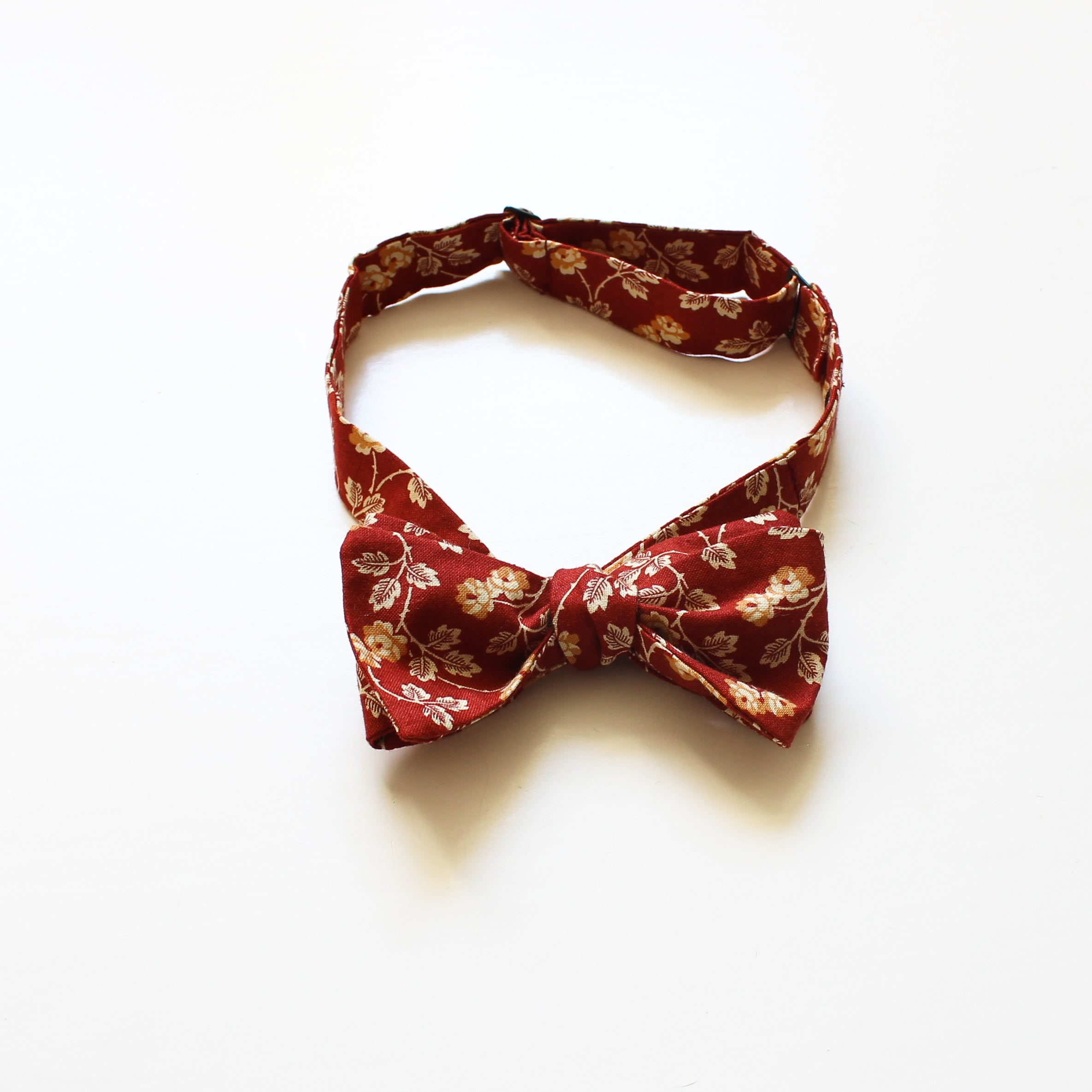Marigold Bow Tie in Rust