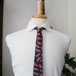Fruity Pie Necktie in Watermelon