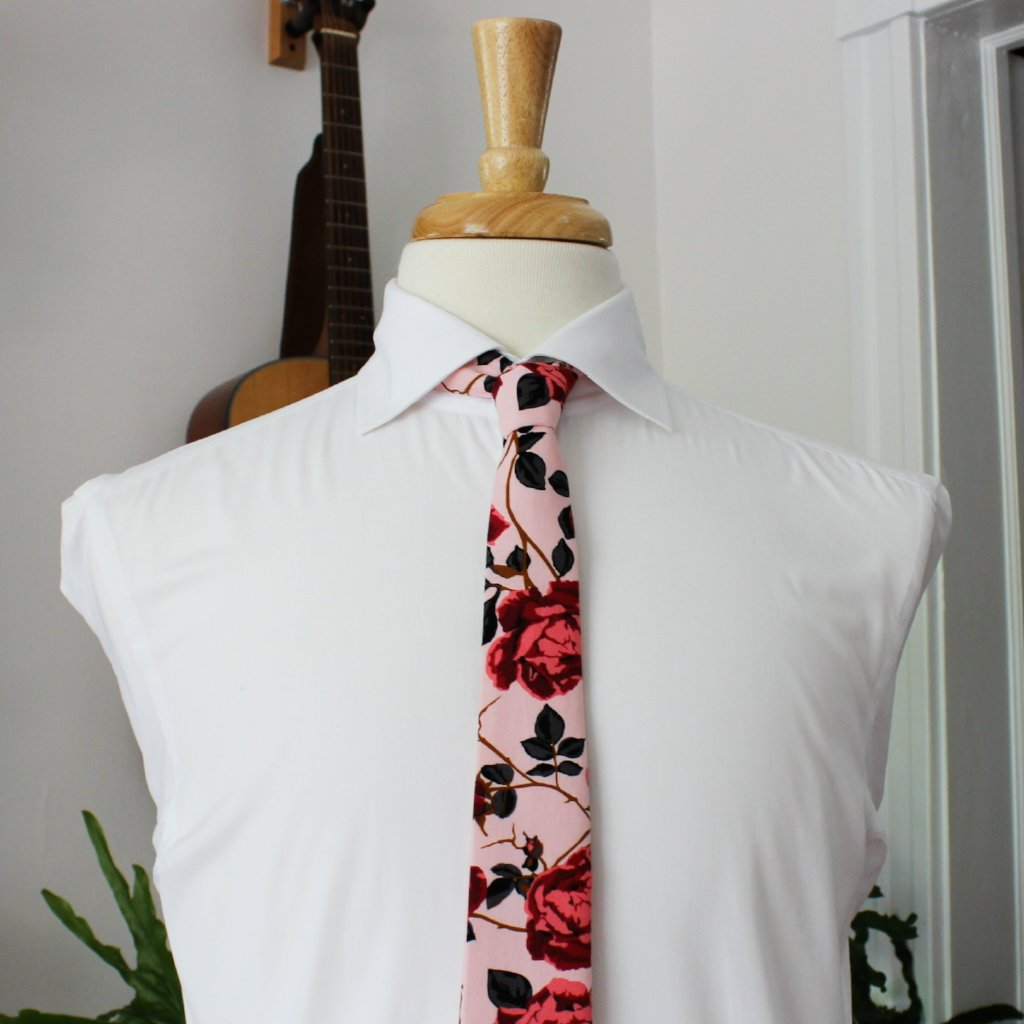 Death Rose Necktie