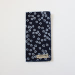 Indigo Floral Pocket Square