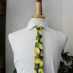Fruity Pie Necktie in Lemon