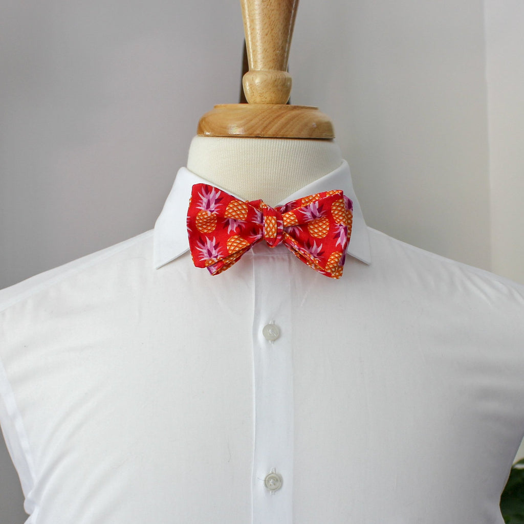 Fruity Pie Bow Tie in Pineapple