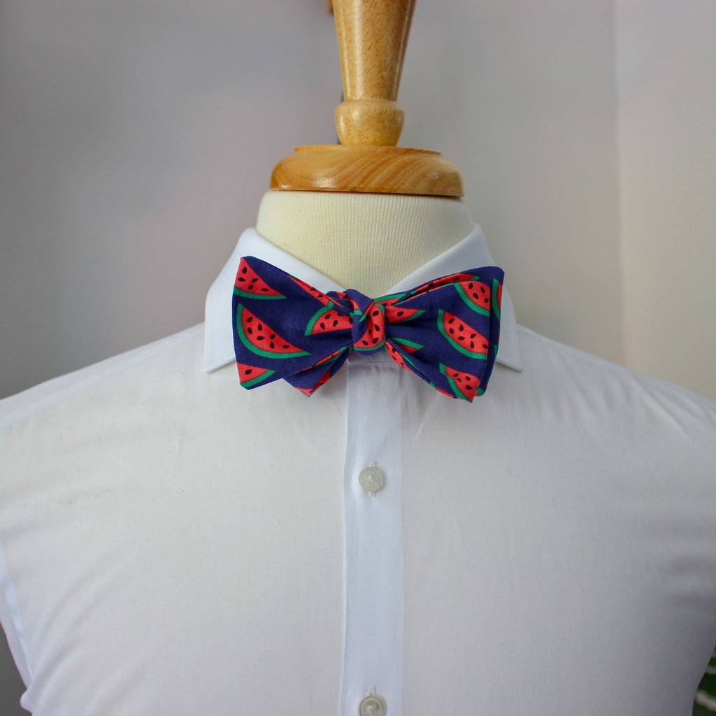 Fruity Pie Bow Tie in Watermelon