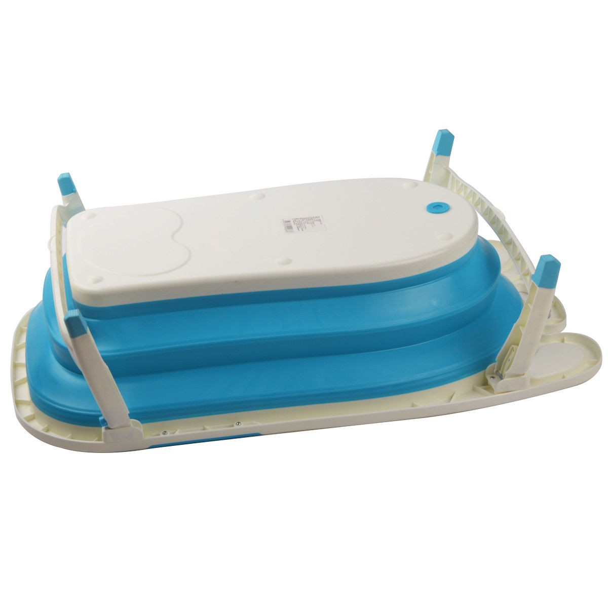 Baby Folding Collapsible Portable Bathtub w/ Block This baby folding ...
