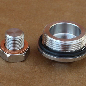 Suzuki 09247-32001 GT750 Water Coolant Cap Drain Plug Set In Stainless Steel