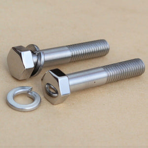 kawasaki top yoke bolts highly polished stainless 44041-045