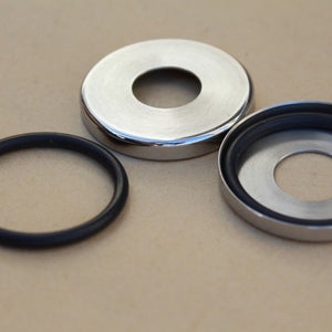 Suzuki 61262-15000 GT750 GT550 GT500 GT380 GT250 Swing Arm Dust Seal Covers Set
