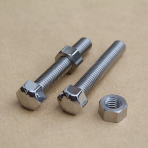suzuki gt chain adjuster bolt set in stainless