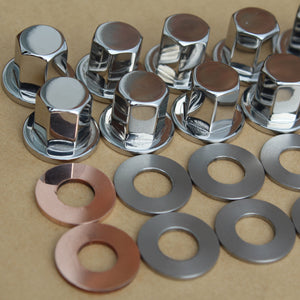 kawaski 92015-076 top hat nut set stainless steel