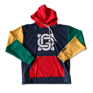 Color Block Hoodie Primary