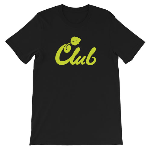 Club Script Tee Lemon-Lime