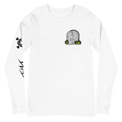 It's DEAD Long Sleeve Tee White
