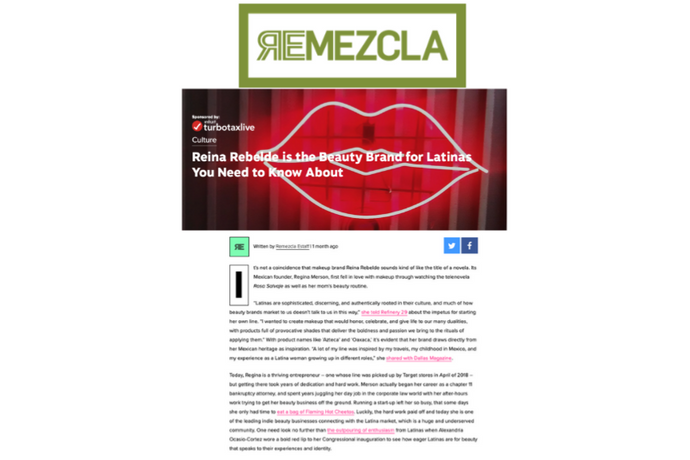 Remezcla - Reina Rebelde is the beauty brand for Latinas you need to know about