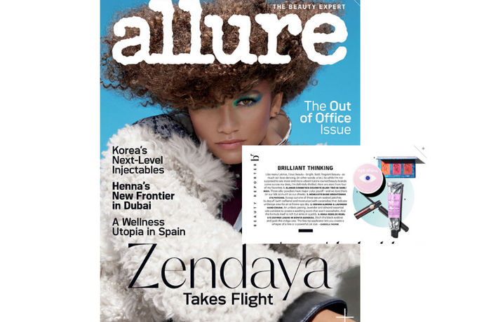 ALLURE: features Bonita Bandera in December print Beauty Reporter