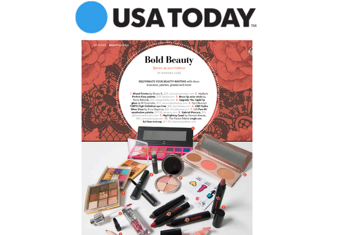 USA Today: Latina Beauty is Bold Beauty