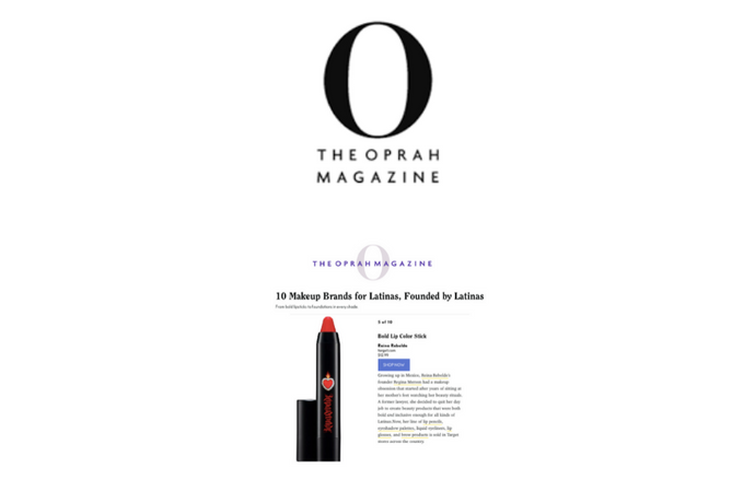 OPRAH MAGAZINE: FEATURES REINA REBELDE