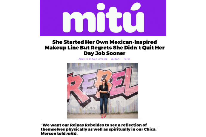 Reina Rebelde founder tells Mitú she wishes she had quit her law job sooner