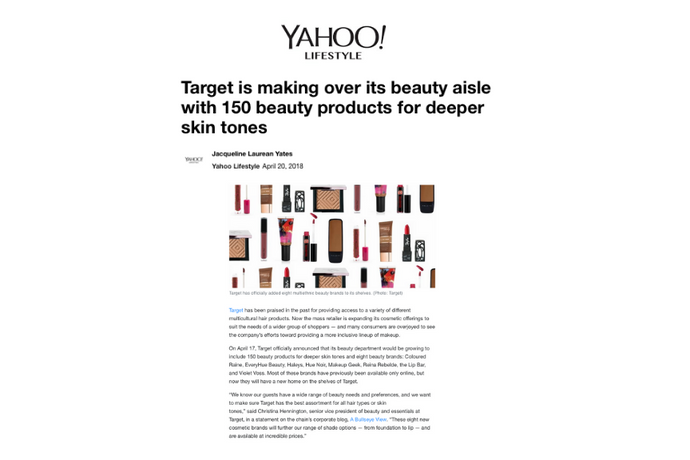 Why Target understands the Reina Rebelde community and how they remade their beauty aisle for darker, multi-ethnic skin tones