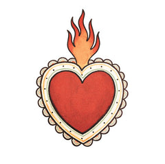 Reina Rebelde Flaming Heart