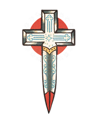 Reina Rebelde Cross Dagger