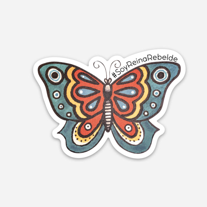 La Mariposa Milagro Decal