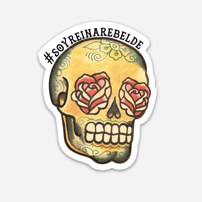La Calavera Milagro Decal