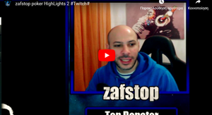 zafstop poker Highlights!