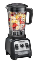 "Proctor Silex Commercial 55000 High-Performance Blender, 2.4 Peak hp, Variable Speed Dial, BPA-Free 64 oz./1.8 L Container, 17.32"" Height, 7.6"" Width, 8.69"" Length, Black"