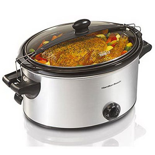 Hamilton Beach 33262 Stay or Go 6-Quart Slow Cooker