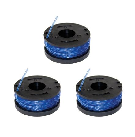 Sun Joe 15-Feet .065-Inch Replacement Spools for String Trimmer Model TRJ600C (3-pack)