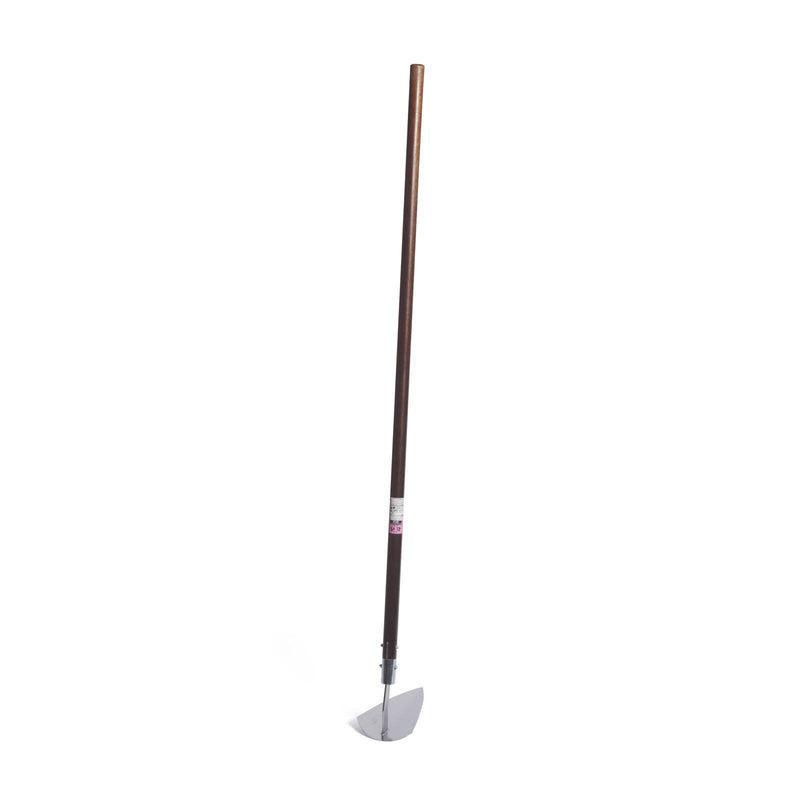 Nisaku Stainless Steel Long Triangle Hoe, 9-Inch Blade