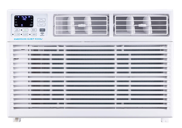 Emerson Quiet Kool Smart 15,000 BTU 115V Window Air Conditioner with Remote, Wi-Fi, and Voice Control, EARC15RSE1, White  [Factory Refurbished]