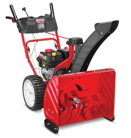 "24"" Two-Stage Snow Blower - 208cc Troy-Bilt Engine - Airless Tires"
