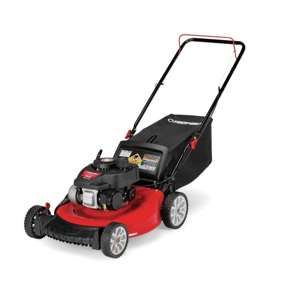 Troy-Bilt 11A-A2SD766 21 in. 140 cc Gas Walk Behind Push Mower with 3-in-1 Cutting TriAction Cutting System