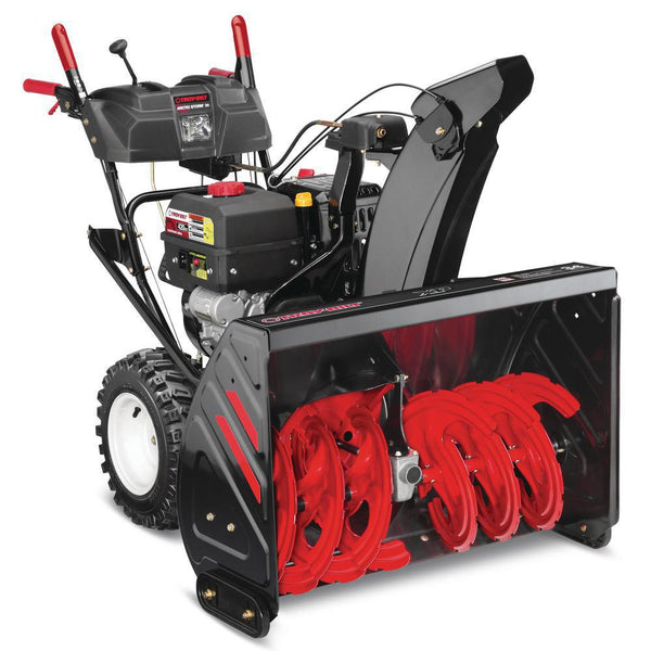 "Troy Built Arctic Storm™ 34 Snow Blower 34"" Two-Stage Snow Blower - 420cc Engine - Touch 'n Turn® Power Steering"