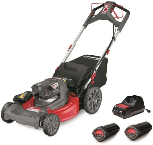 Troy-Bilt TB610 40-volt Max Brushless Lithium Ion 21-in Cordless Electric Lawn Mower