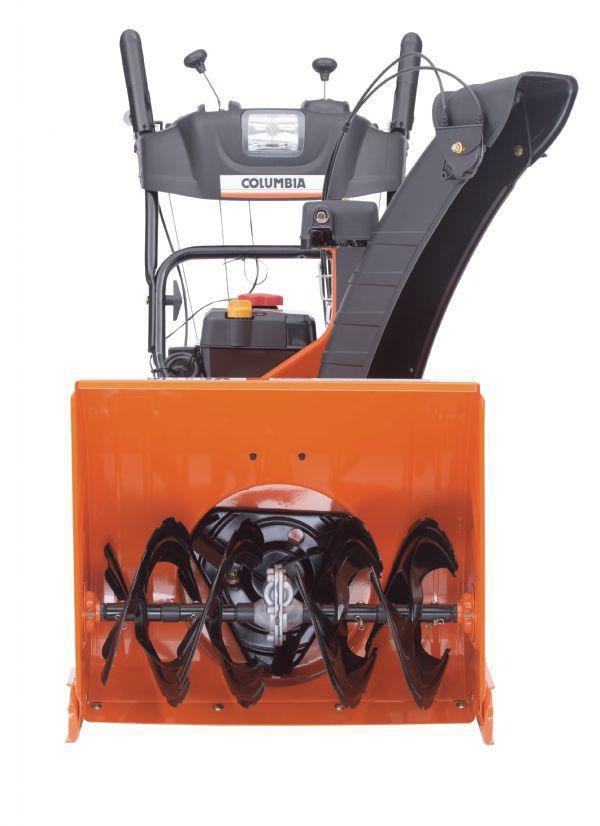 "Columbia Snowblower, 3 yr Warranty, 26"" E-Z Steer Electric Start - 31BH54K3897"
